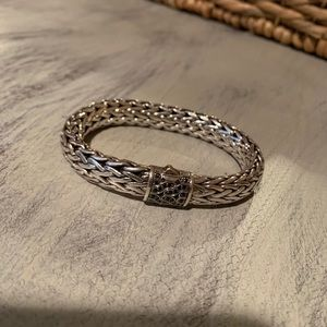 John Hardy Jewelry - John Hardy 40th Anniversary Bracelet Blk Saphires